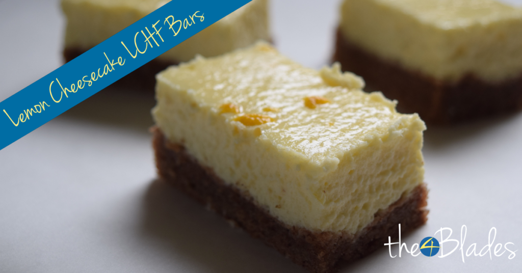 Thermomix Fat Bomb Lemon Cheesecake Bars