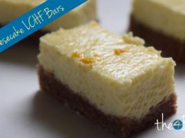 Thermomix Fat Bomb Lemon Cheesecake Bars