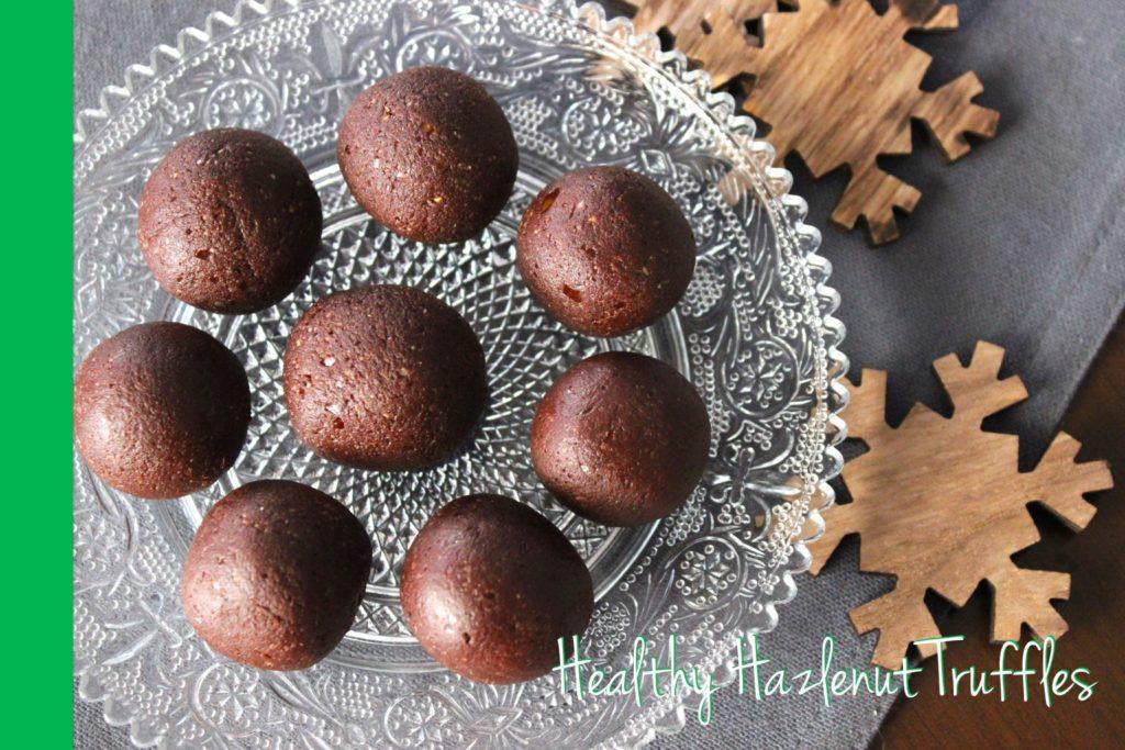 healthy hazelnut truffles thermomix