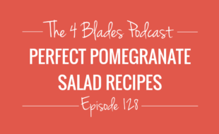 Pomegranate salad recipes