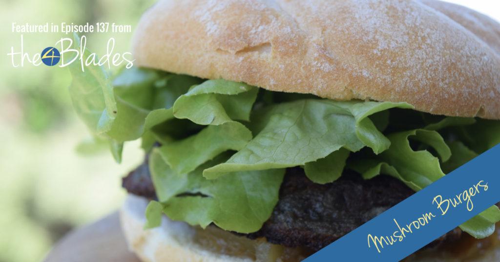 Thermomix mushroom burger recipe