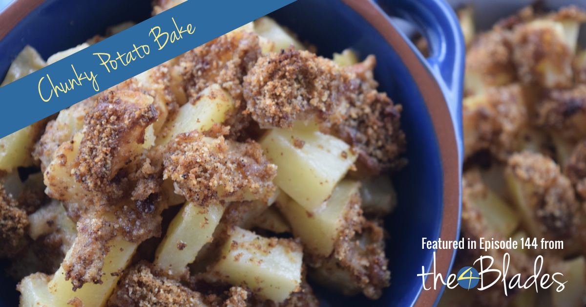 Chunky Thermomix Potato Bake Recipe