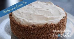 Malteser Ice Cream Pie