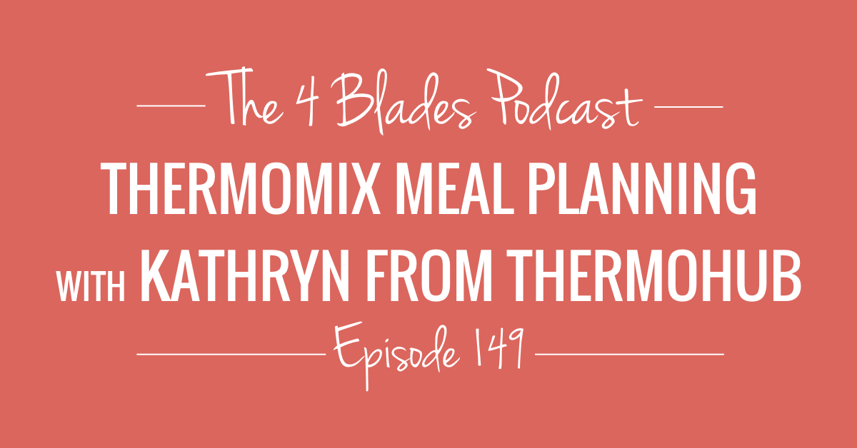 Thermomix Meal Planning