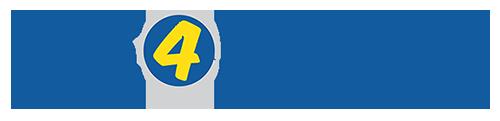 The 4 Blades Logo