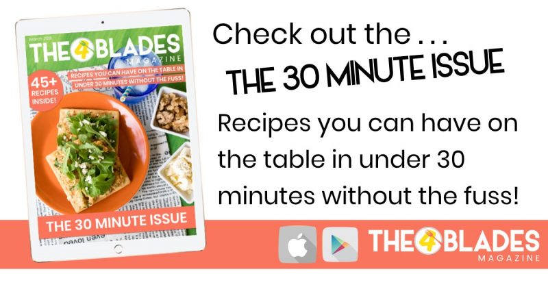 The 4 blades magazine support the 4 blades the 30 minute issue of the 4 blades thermomix mag fandeluxe Images