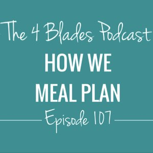 T4B107: How We Meal Plan
