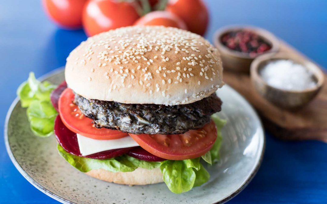 BBQ'd Mushroom Burgers
