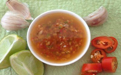 Chilli, Garlic & Lime Dressing