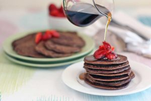 Chocolate-Coconut-Mini-Pancakes-Thermomix-Recipe
