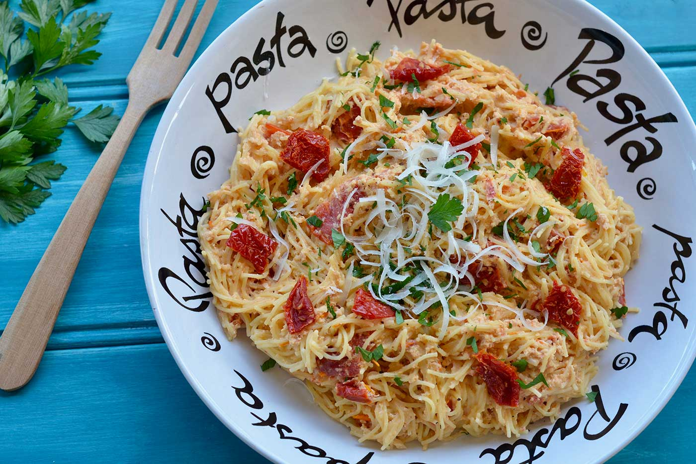 Creamy-Chicken-Sun-Dried-Tomato-Spaghetti-Thermomix-Recipe