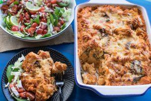 Creamy-Pumpkin-and-Spinach-Pasta-Bake-Thermomix-Recipe