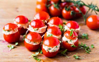 Feta Stuffed Cherry Tomatoes