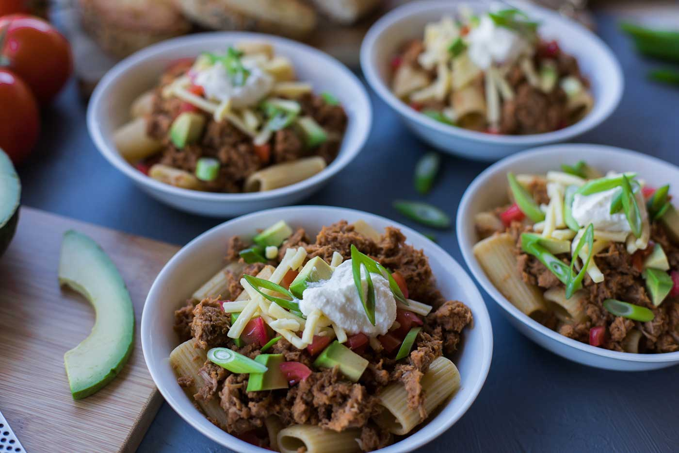 Fully-Loaded-Chunky-Beef-Chilli-Pasta-Thermomix-Recipe