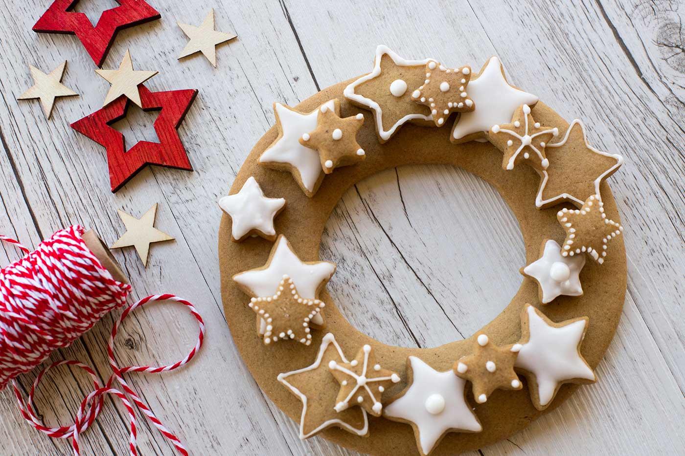 Gingerbread-Wreath-Thermomix-Recipe
