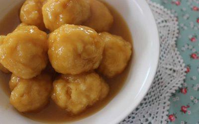 Golden Syrup Dumplings