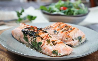 Low FODMAP Grilled Salmon