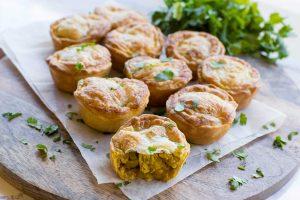 Mini-Coriander-Chicken-Curry-Pies-Thermomix-Recipe