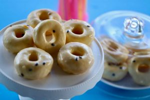 Mini-Donuts-with-Passionfruit-Icing-Thermomix-Recipe