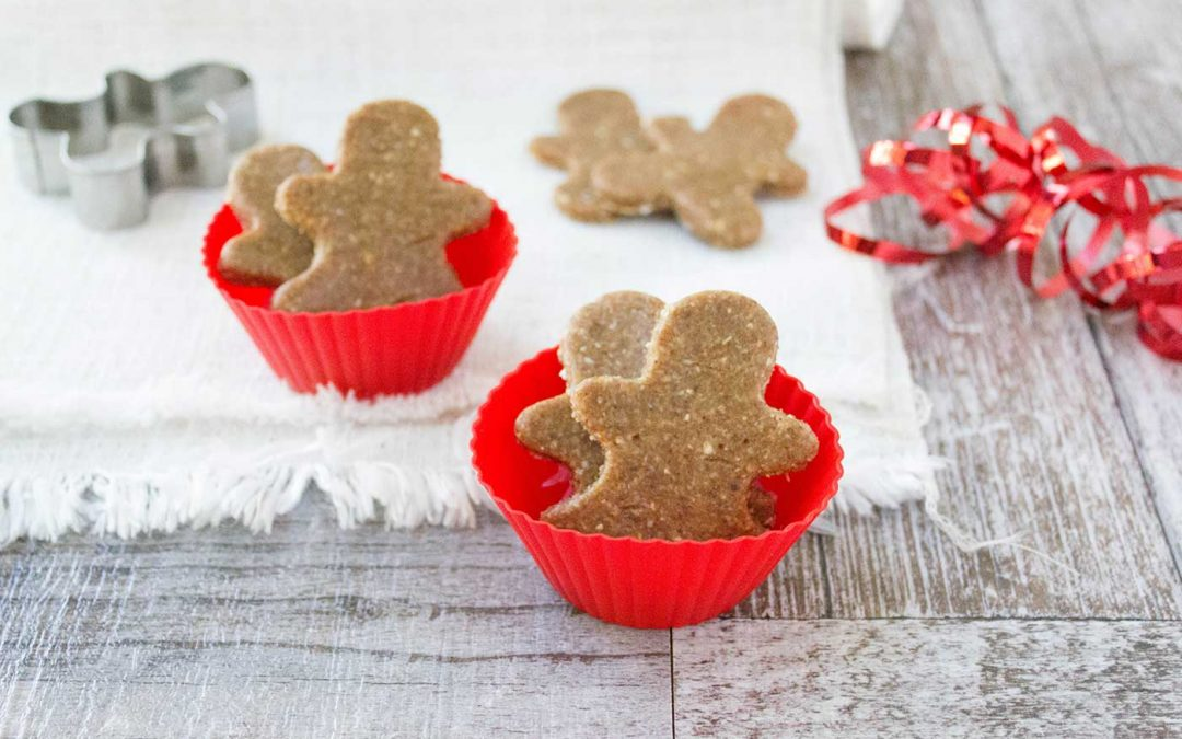 Mini Raw Gingerbread Men