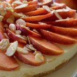 Nectarine-Almond-and-Honey-Cheesecake_2