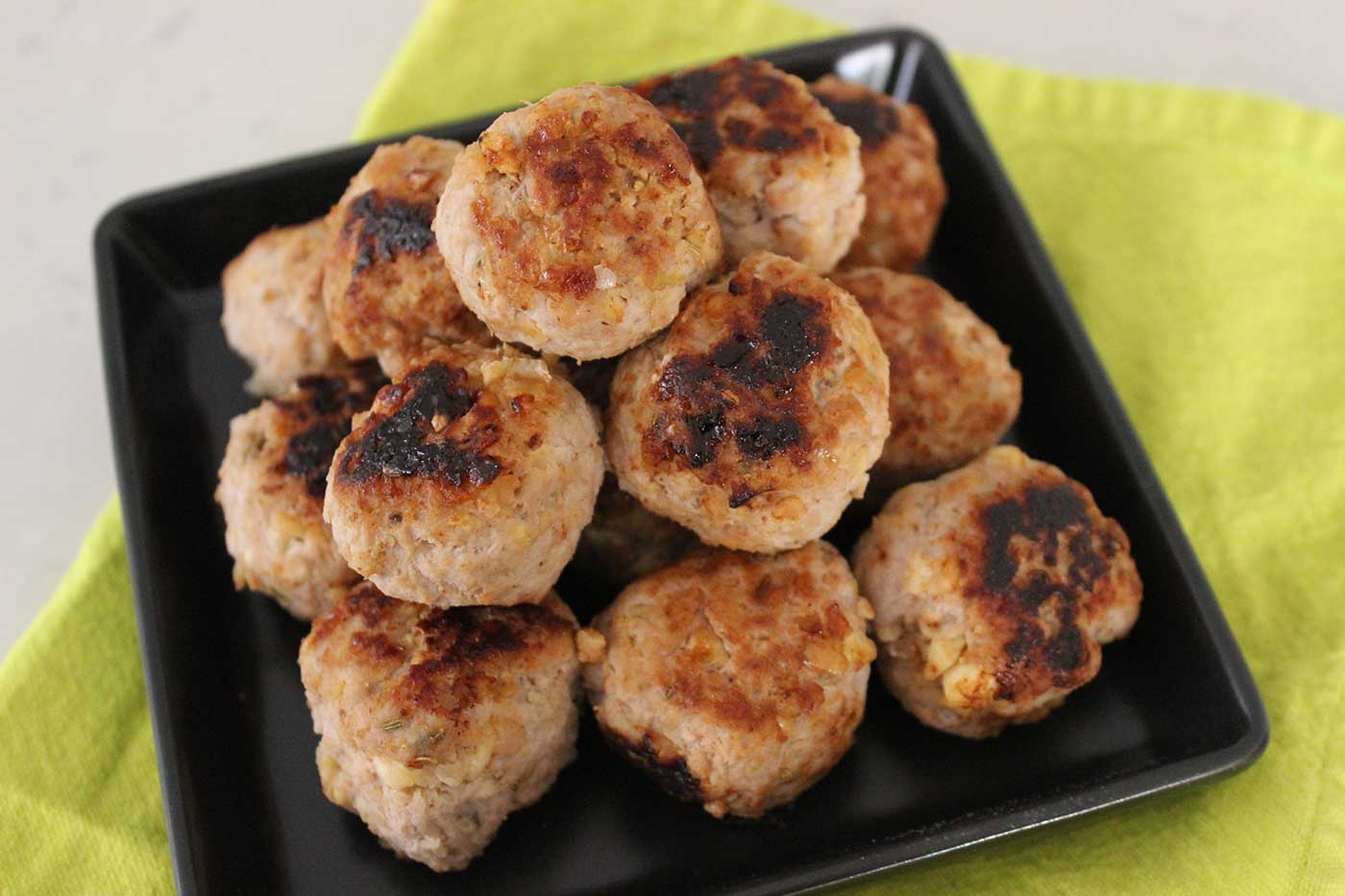 Pork-Apple-&-Fennel-Meatballs-with-Apple-Cider-Dip-Thermomix-Recipe