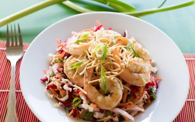 Prawn and Crunchy Noodle Salad