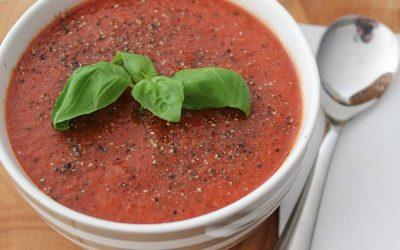 Raw Tomato Basil Soup