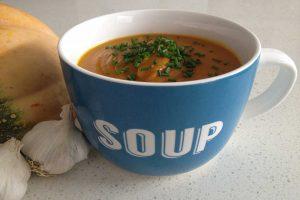 Roast-Pumpkin-&-Garlic-Soup-Thermomix-Recipe
