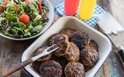 Thermomix BBQ'd Aussie Rissoles
